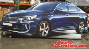 2016 Giant Inflatable Car Kia Optima