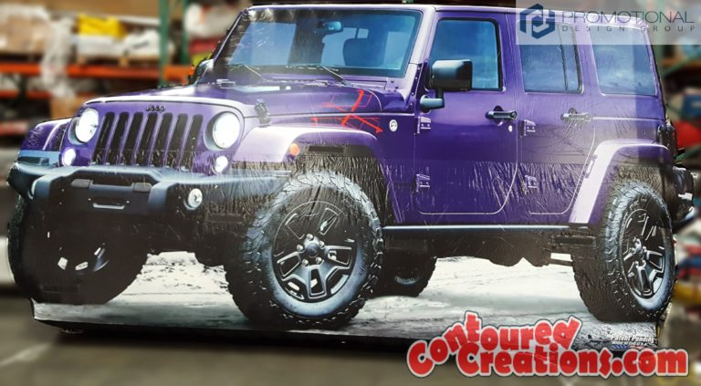 2016 Giant Inflatable Jeep Wrangler Backcountry Edition