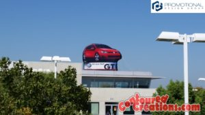 2015 GOLF GTI Standee