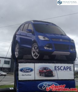 Ford Escape Standee
