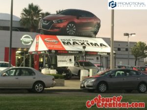 Inflatable 2016 Nissan Maxima