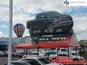 2017 RAM Truck Tentflatable